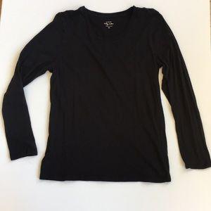 J. Crew Vintage Cotton Basic Long Sleeve T-Shirt